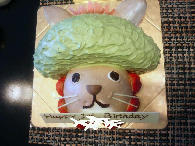 1歳のお誕生日会