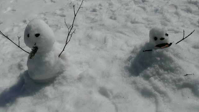 子連れで雪山へ2